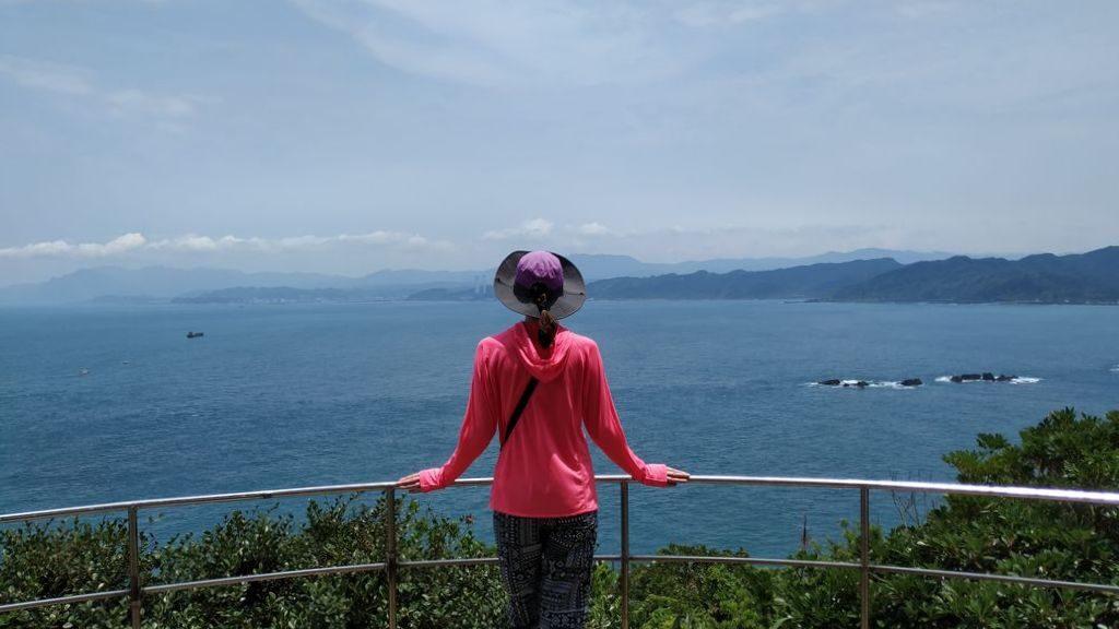 Смотровая площадка в геопарке Тайваня