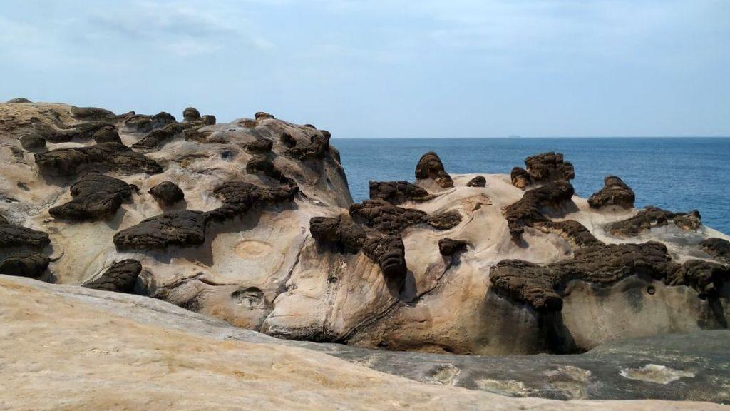 Причудливые камни в Yehliu Geopark, Тайвань