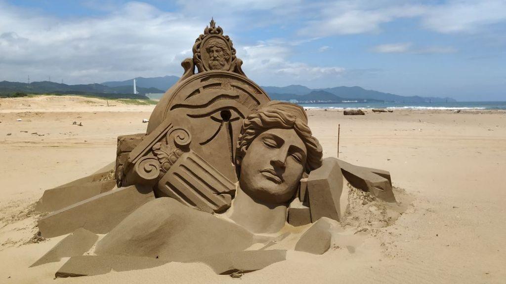 Песчаные скульптуры на Тайване, Fulong Beach