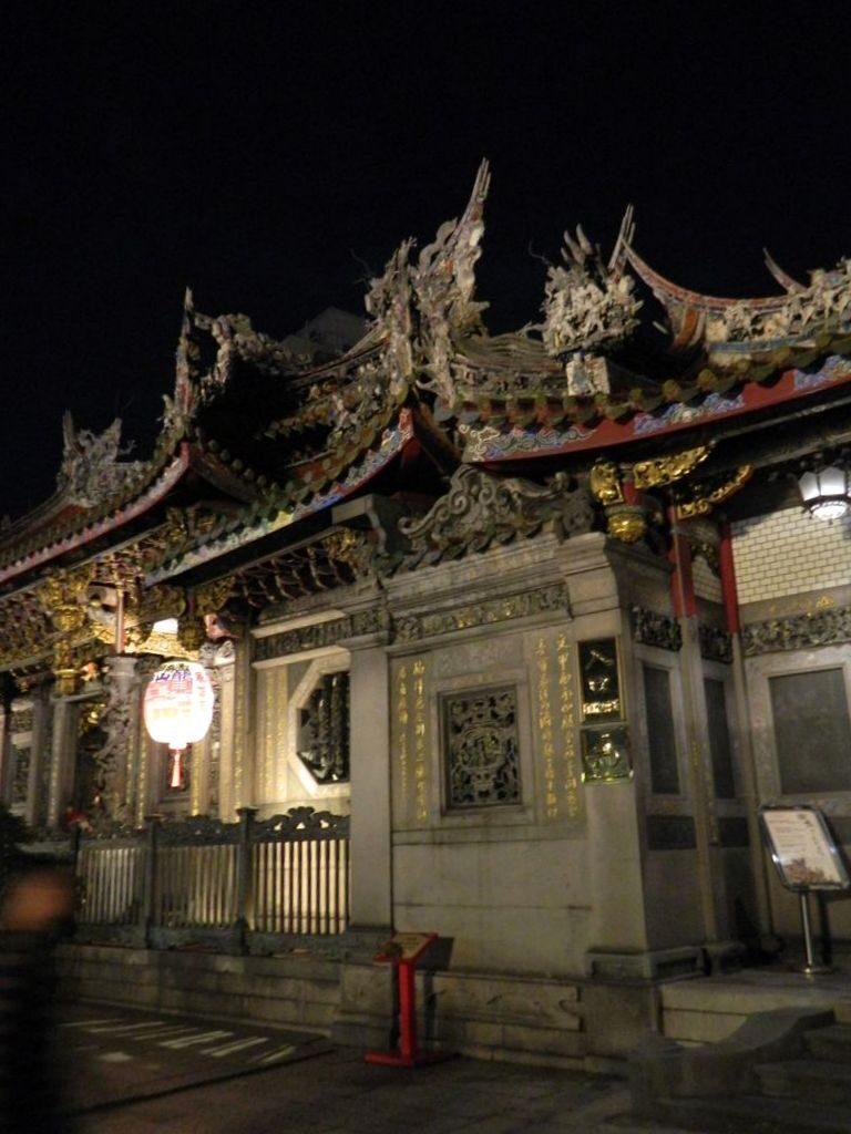 Храм Луншань в Тайбэе, Тайвань