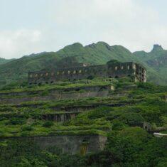 Здание заброшенного завода на Тайване