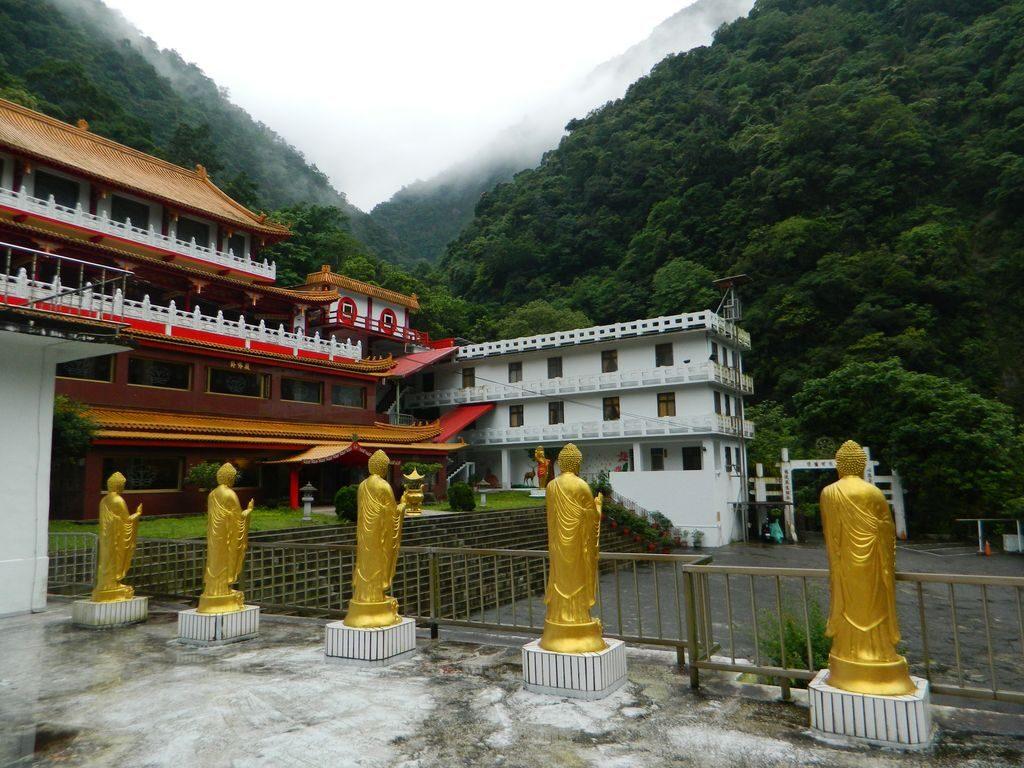 Changuang Temple в Тароко, Тайвань