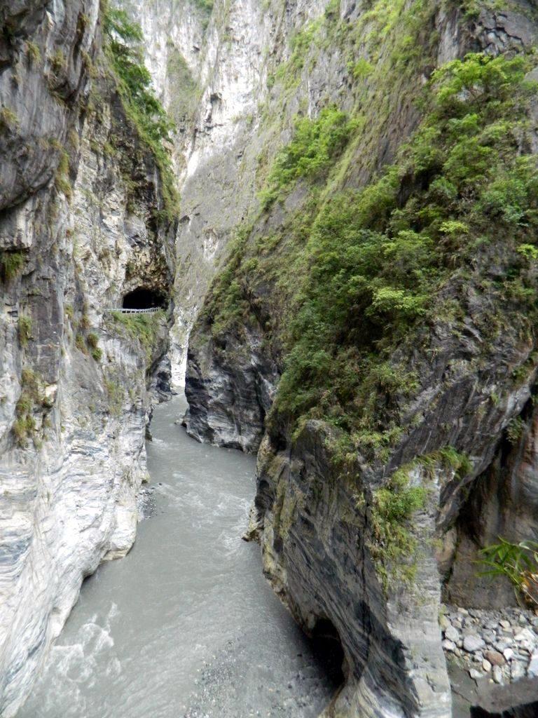 На маршруте Swallow Grotto, Тайвань