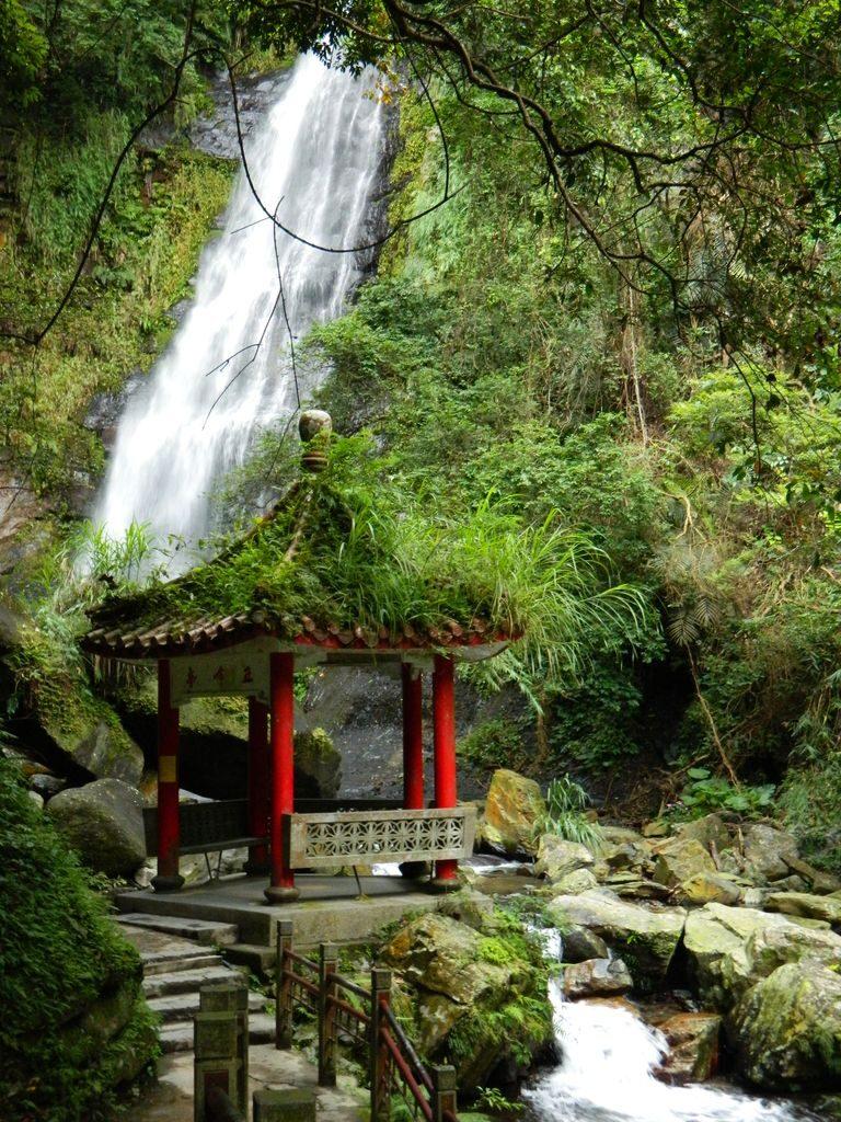 Wufengqi Waterfall, Тайвань самостоятельно