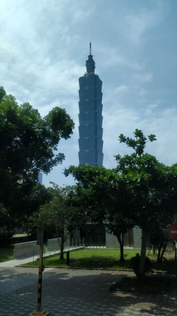 Небоскрёб Тайбэй 101 - главный символ Тайваня