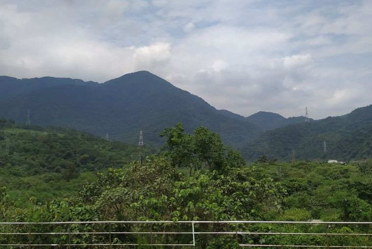 Вид из окна поезда, Тайвань