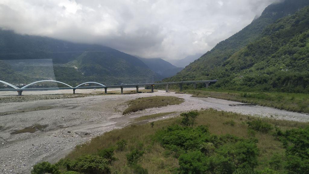 На подъезде к национальному парку Тароко, Тайвань