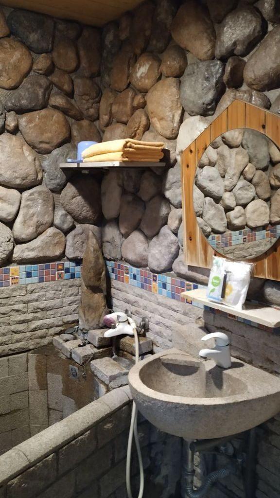 Ванна в отеле курорта Jiaoxi, Тайвань