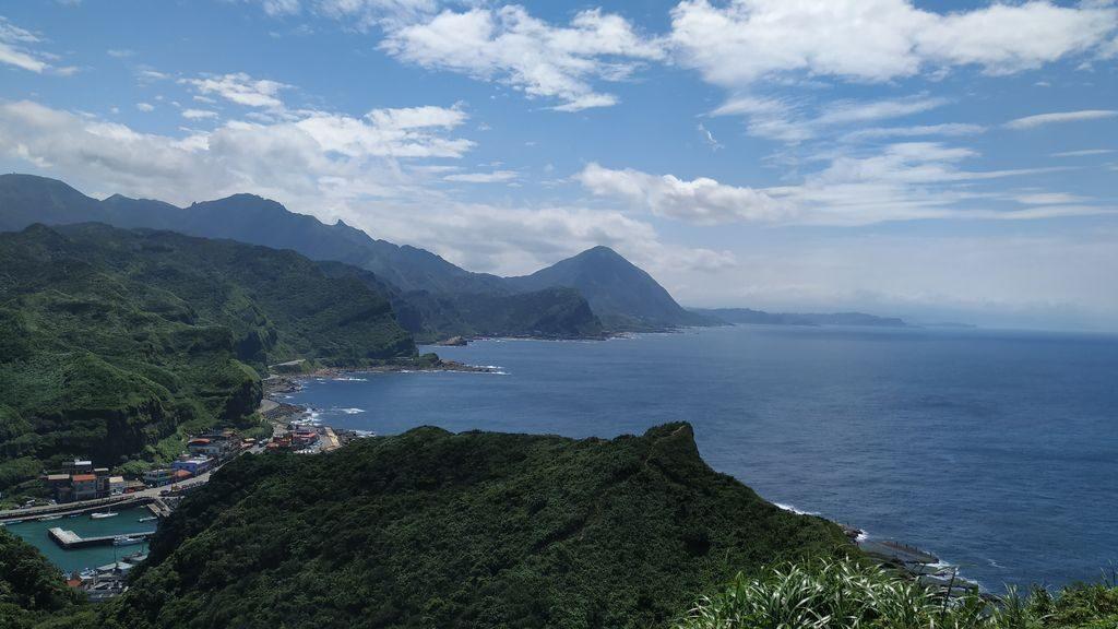 Море и горы острова Тайвань