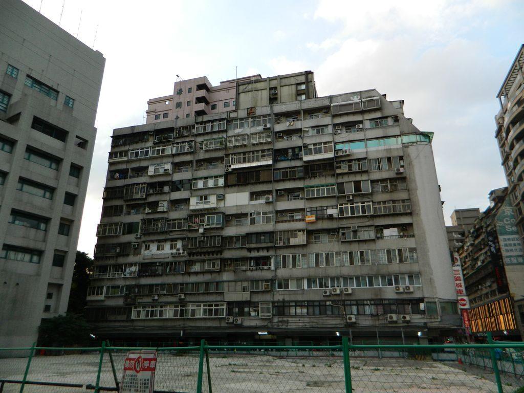 Дом, в котором мы снимали квартиру, Тайбэй