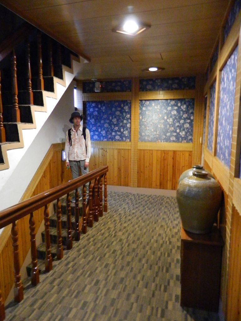 Коридор в отеле, курорт Jiaoxi