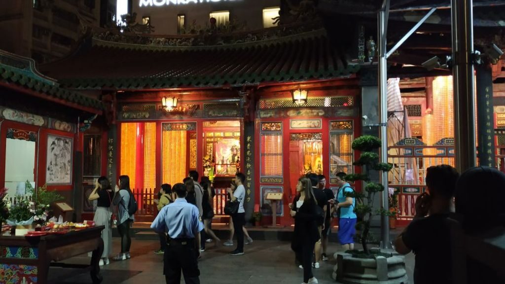 Святилища в храме Луншань, Тайбэй