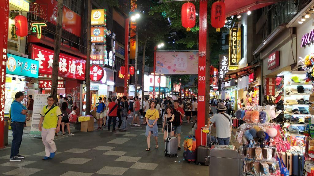Ночной рынок в Тайбэе, Тайвань