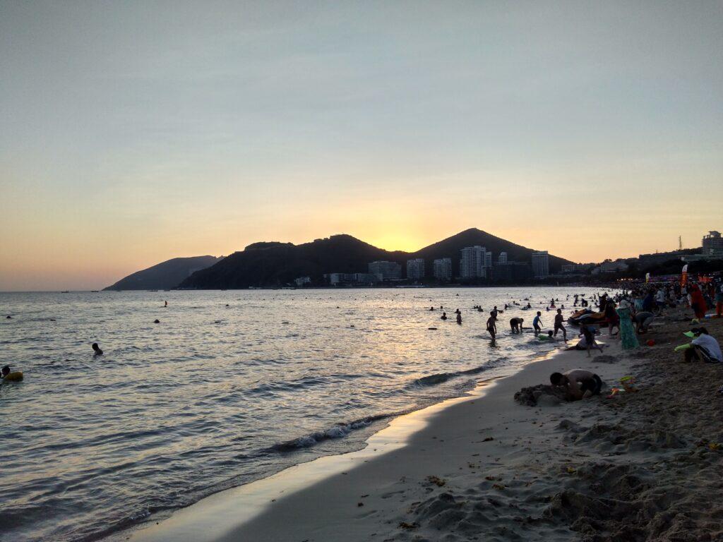 Пляжи Хайнаня в феврале