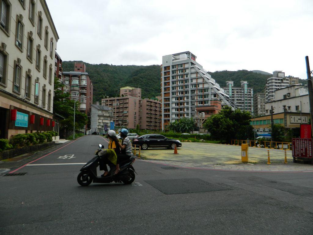 Город с горячими источниками на Тайване