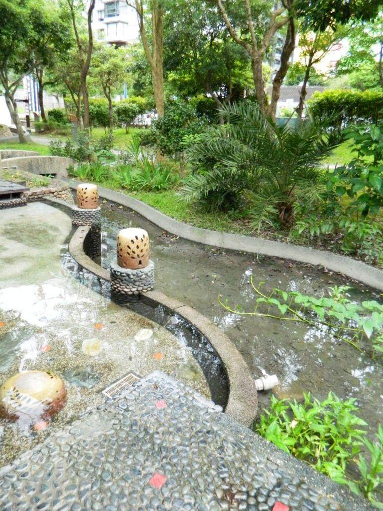 Горячие источники в Jiaoxi, Тайвань