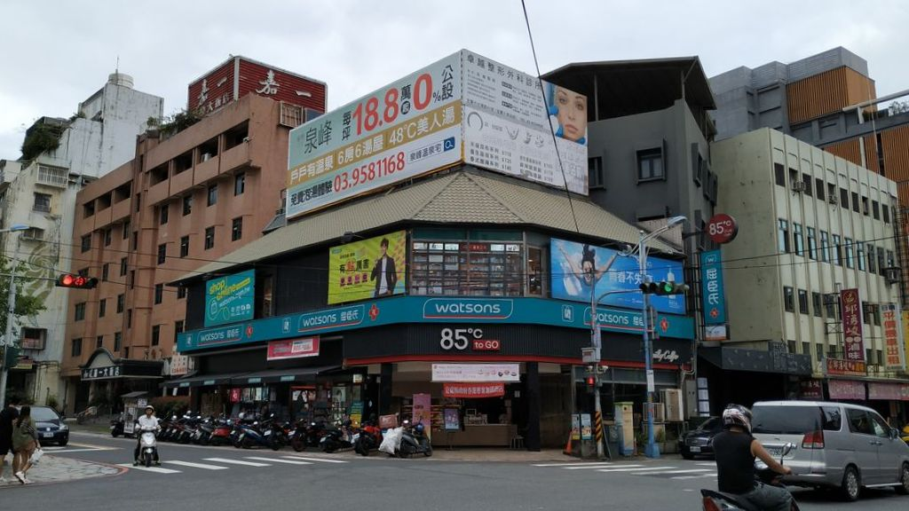 Улицы Jiaoxi, Тайвань