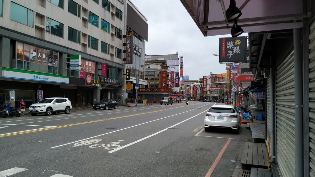 На улицах города Jiaoxi, Тайвань