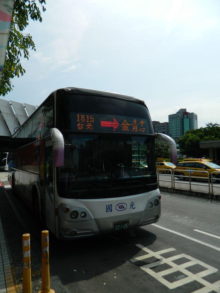 Автобусы - удобный и комфортабельный способ перемещения по Тайваню
