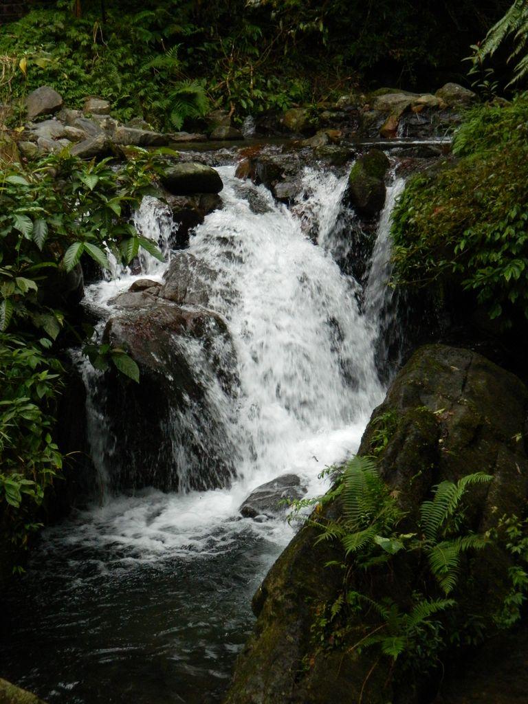 Небольшой водопад, Jiaoxi