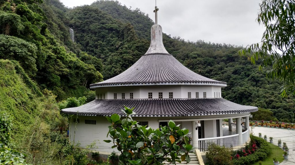 Католическое святилище Богоматери Wufengqi, Jiaoxi, Тайвань