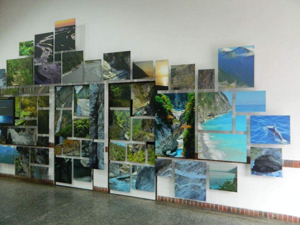 Центр для посетителей в национальном парке Тароко, Тайвань