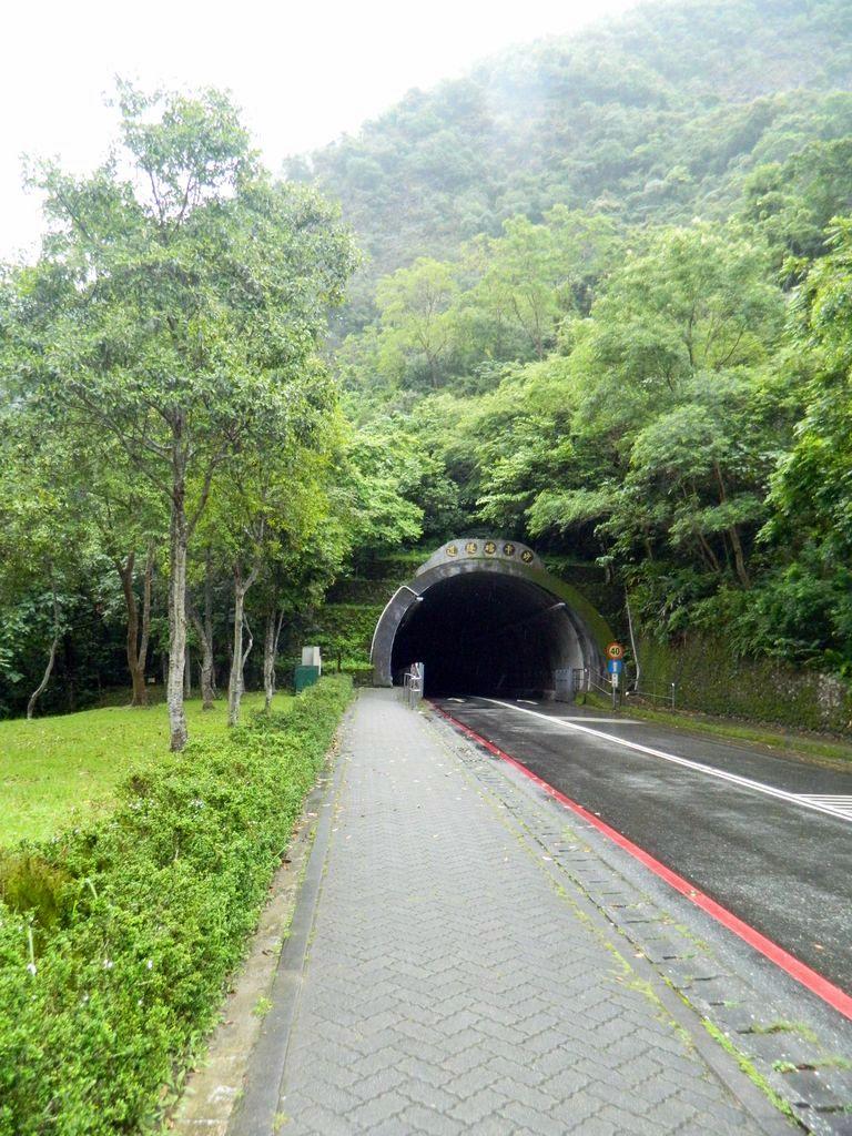 Вход в тоннель Shakadang, Тароко