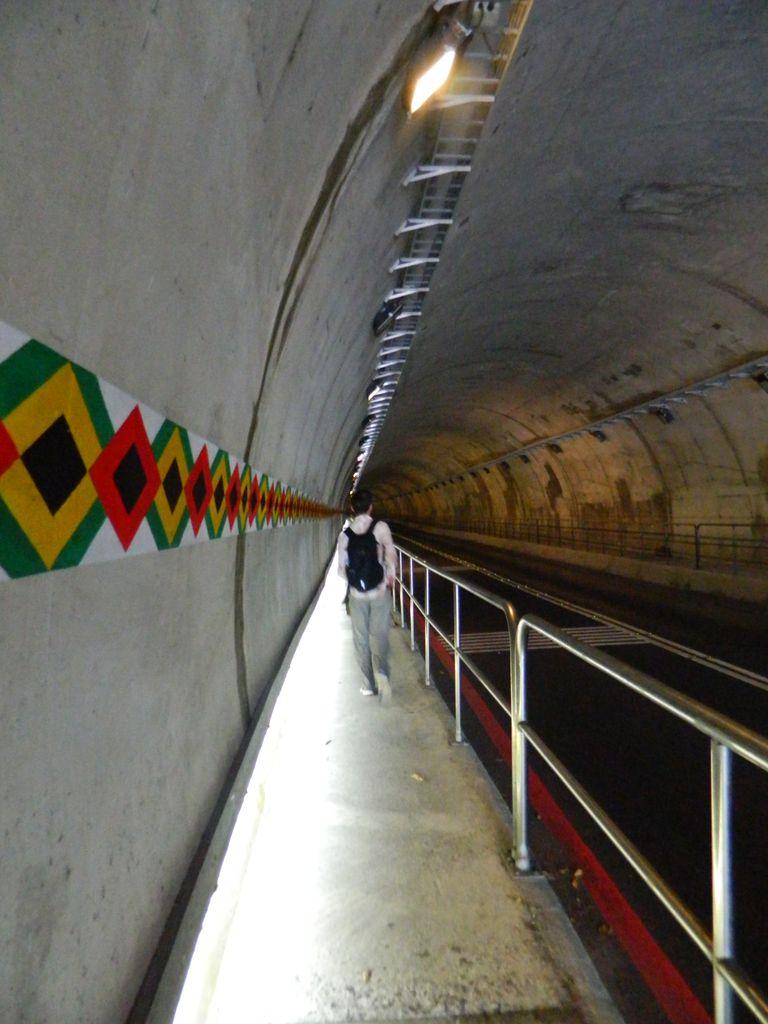 Тоннель Shakadang, Тароко