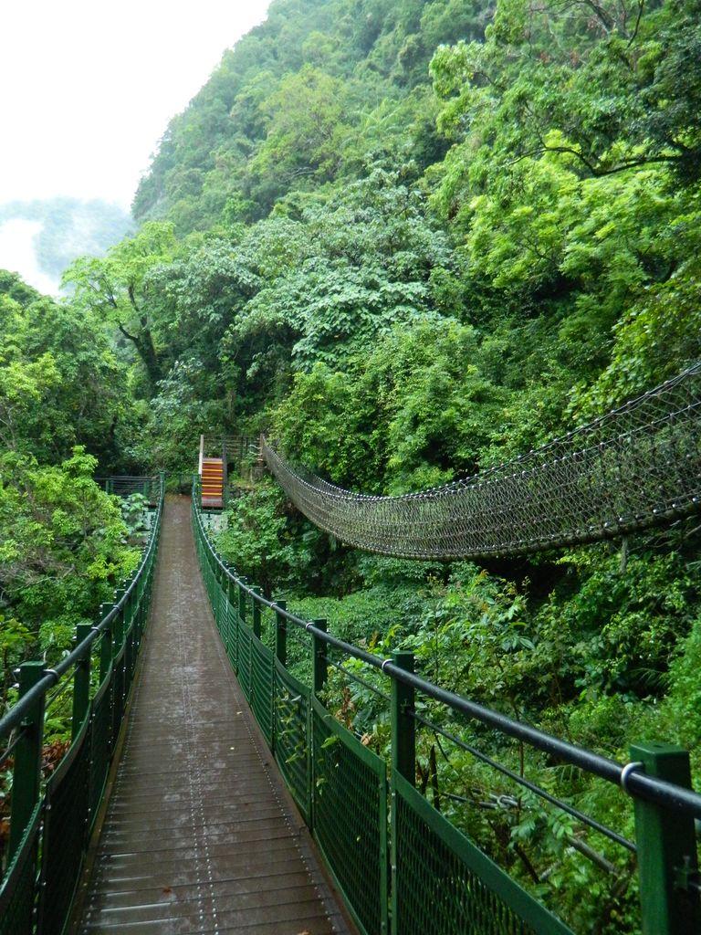Подвесной мост на маршруте Xiaozhuilu, Тароко
