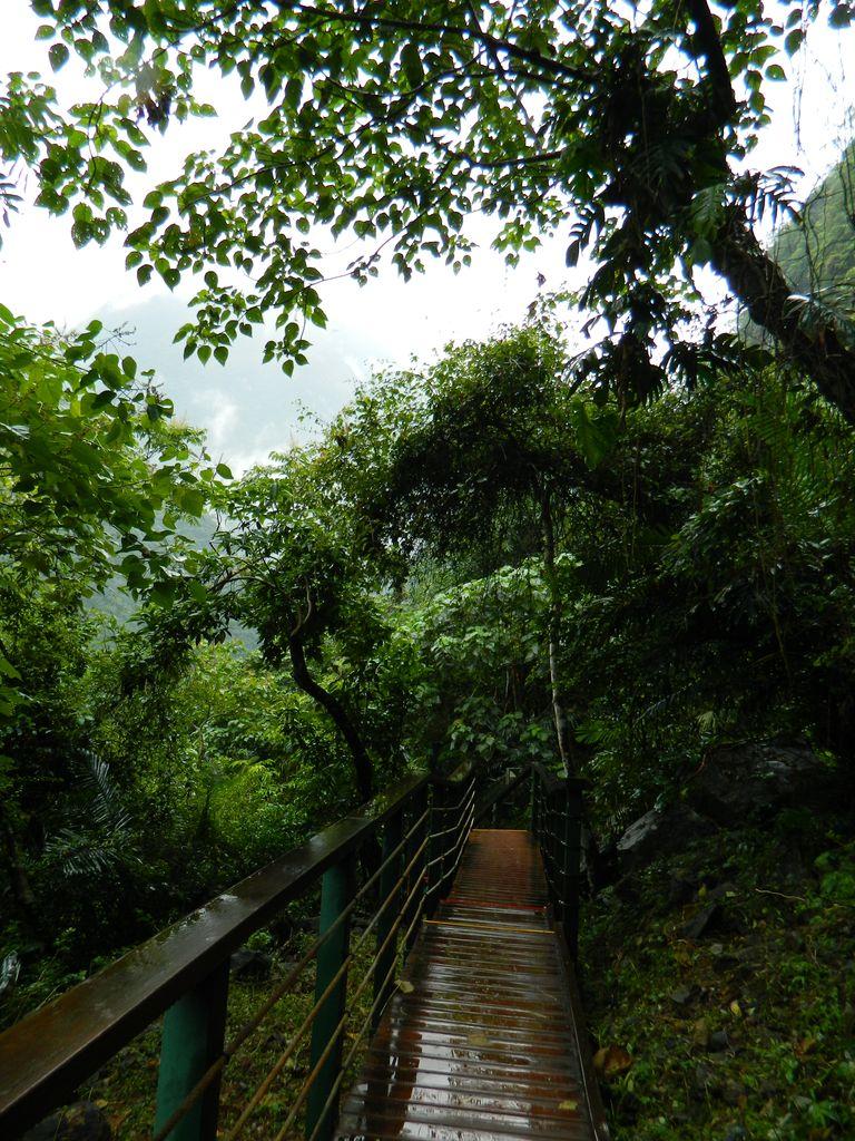 Пешеходный маршрут Xiaozhuilu в Тароко, Тайвань
