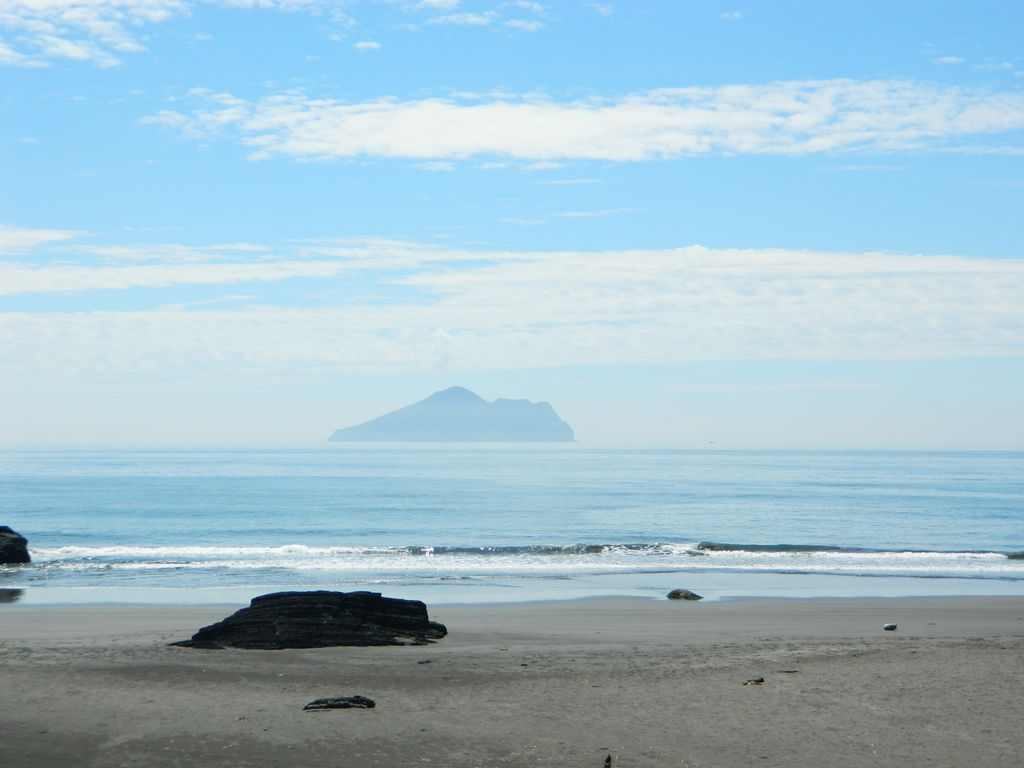 Вид на остров Gueishan, Тайвань