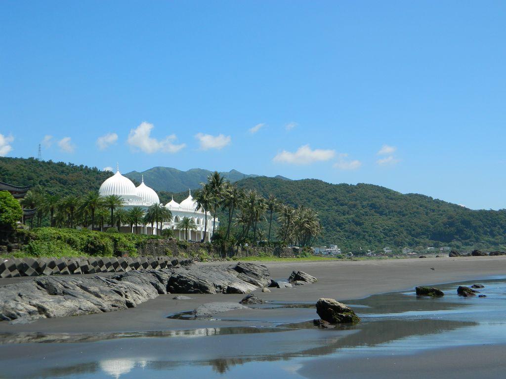 Отель на пляже, Тайвань