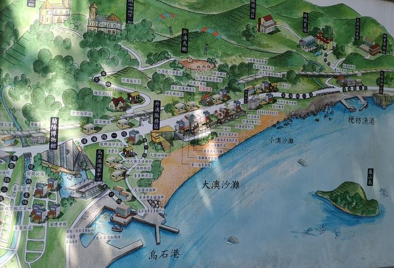 Карта Waiao Beach, Тайвань