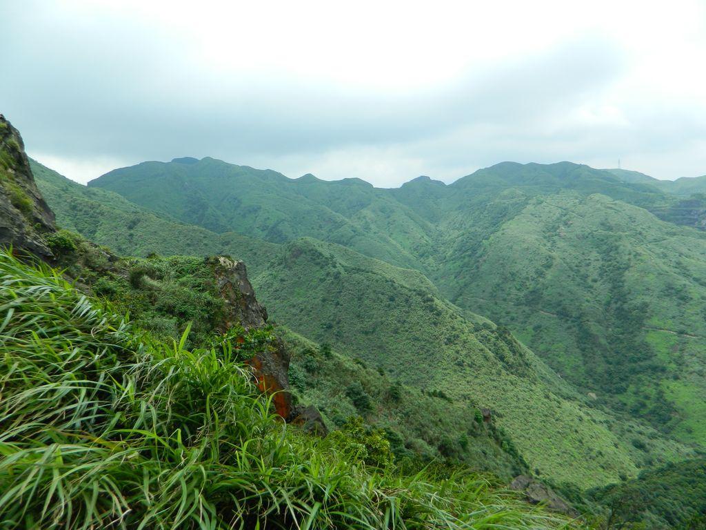 Вид на горы с Teapot Mountain Peak, Тайвань