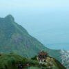 Вид с Teapot Mountain Peak, Тайвань