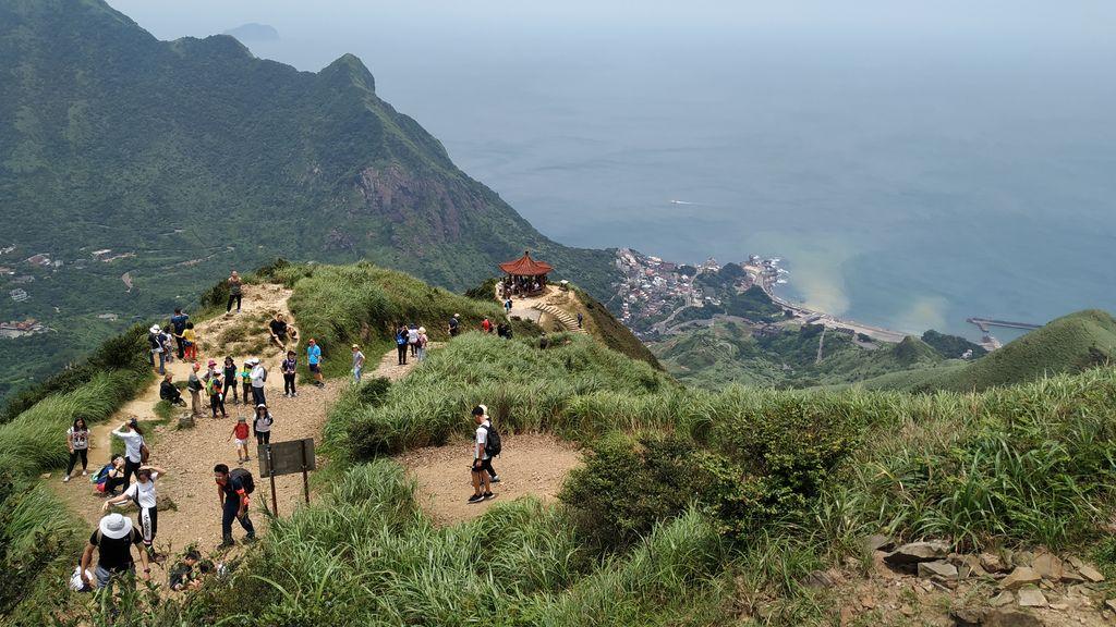 Беседка для отдыха на маршруте, Тайвань
