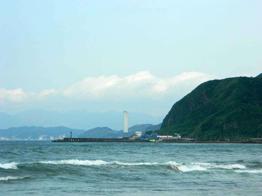 Вид на Wanli Fishing Harbor, Тайвань