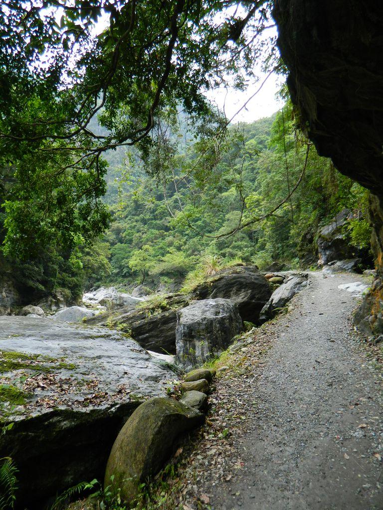 Маршрут по тропе Shakadang, Тайвань