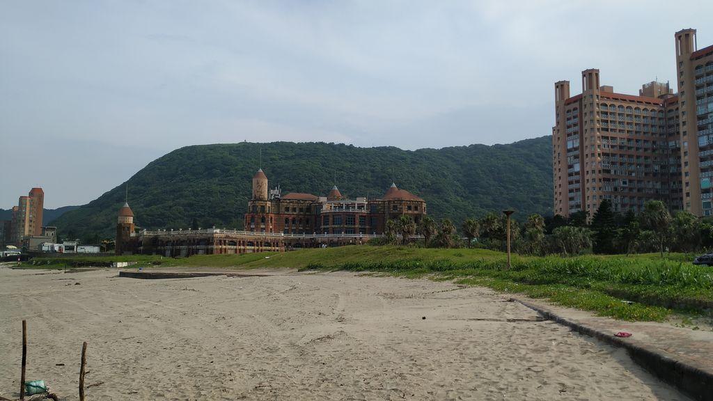 На пляже Feicuiwan, Тайвань