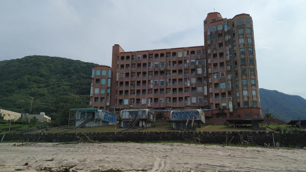 Здание на пляже Feicuiwan, Тайвань