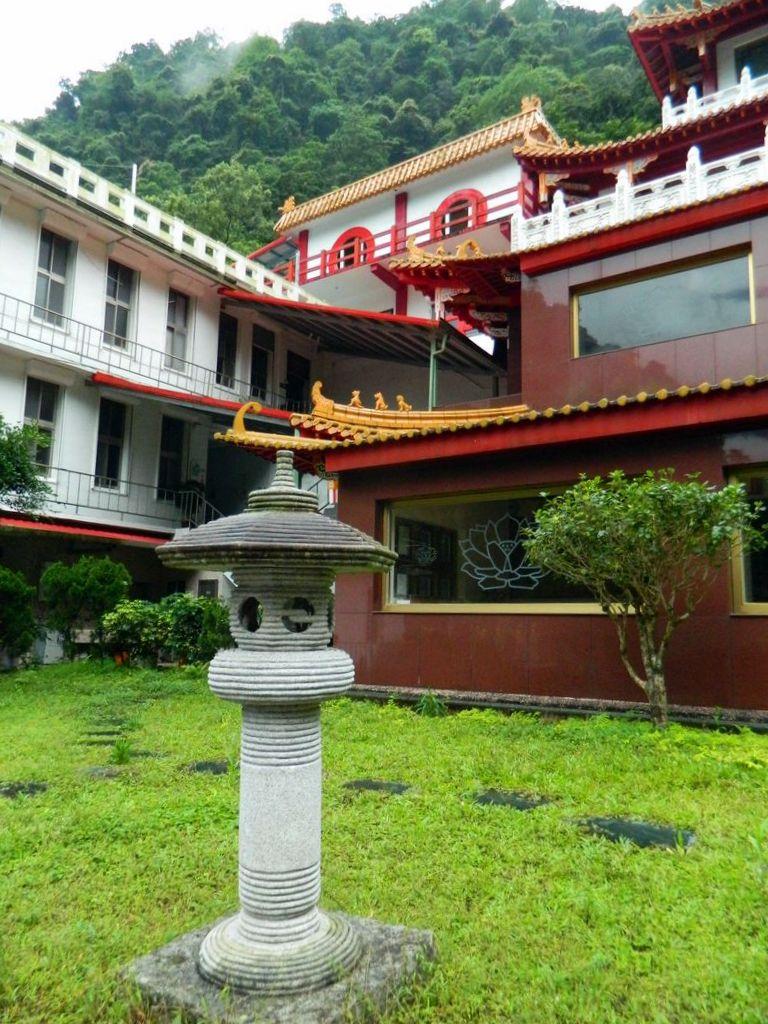 Монастырь Zen, в Тароко, Тайвань