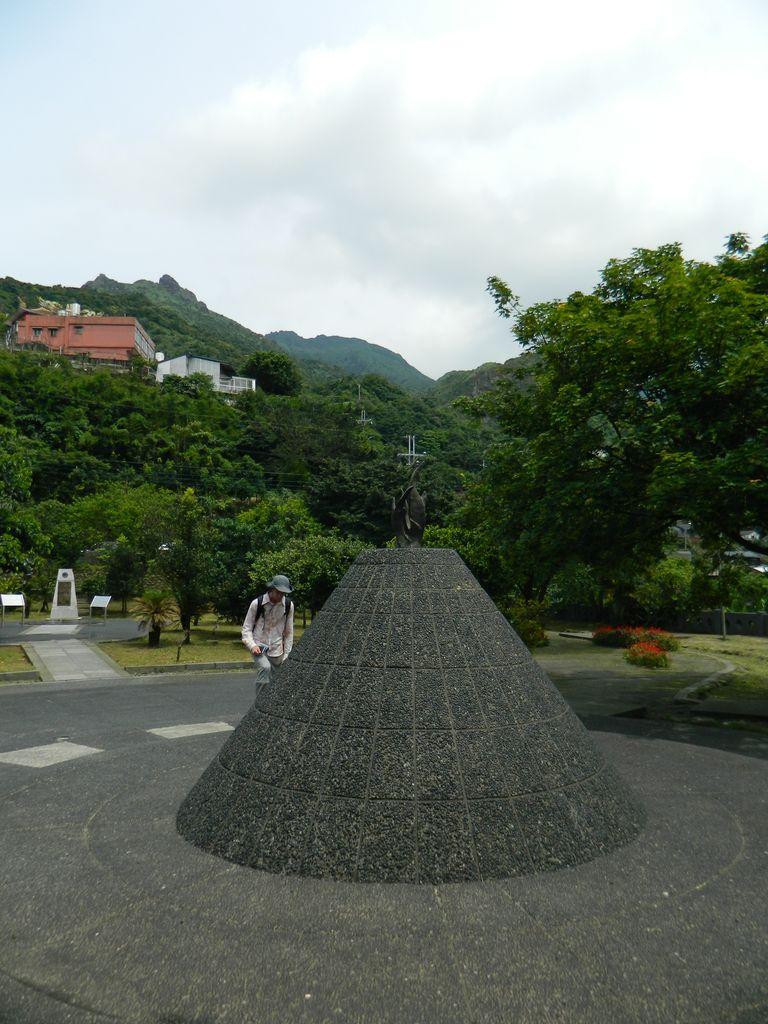 Мемориальный парк в горах Тайваня