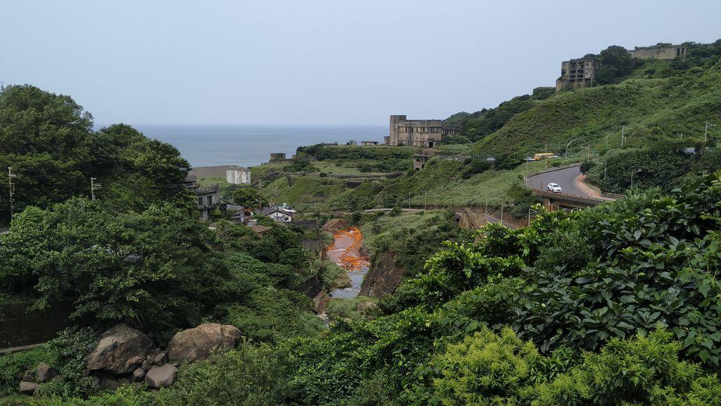 Путь к Golden Waterfall, Тайвань
