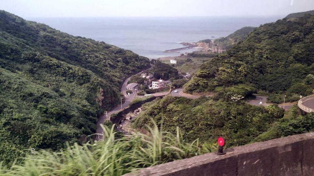 Вид на Yin and Yang Sea, Тайвань