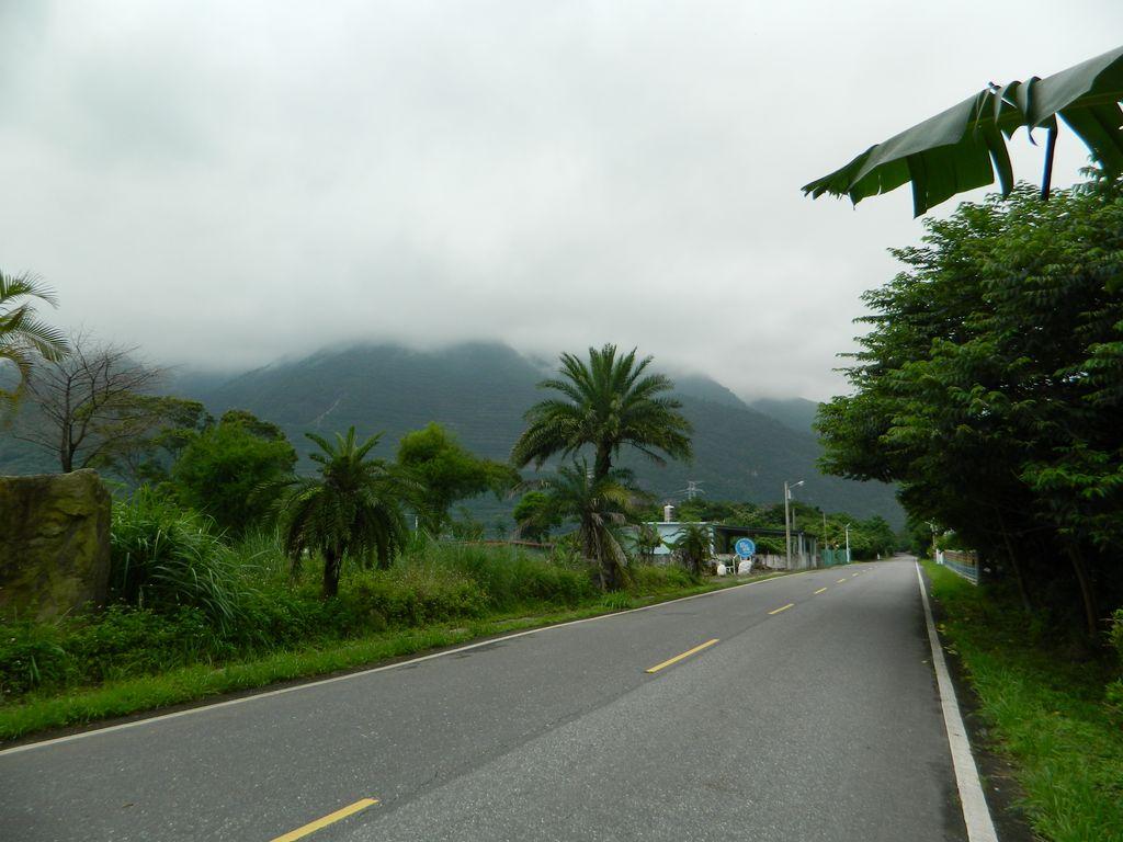 Дорога к пляжу Chongde, Тайвань