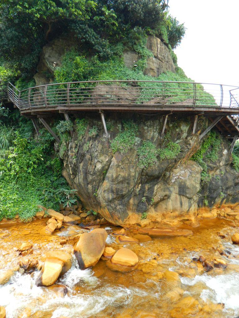 Пешеходная тропа вдоль Золотой реки, Тайвань