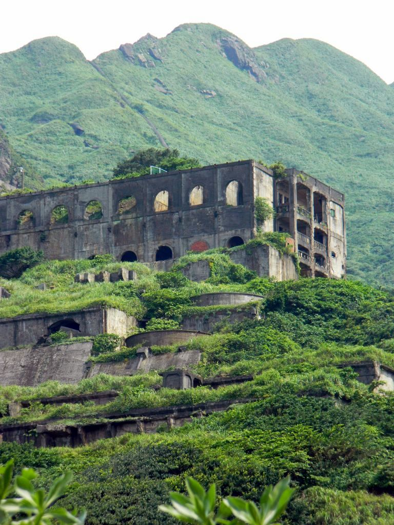 Заброшенный завод на Тайване