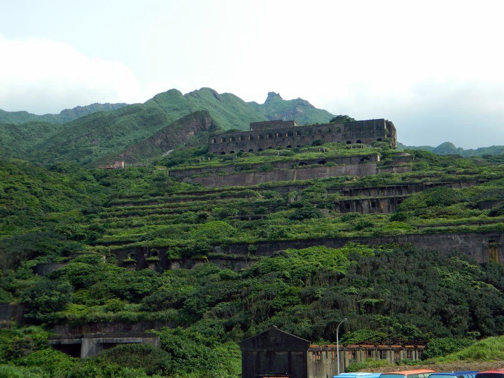 Руины завода на горе, Тайвань