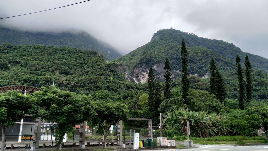 Туманные горы ущелья Тароко, Тайвань