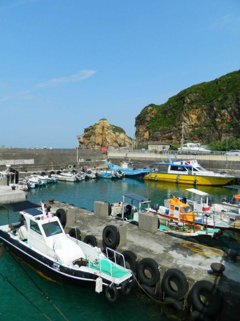 Рыбный порт Tung-ao, Тайвань